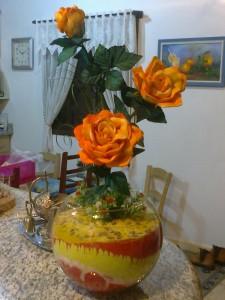 Trio de rosas.