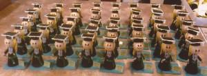 Bonecas de EVA para Formatura.